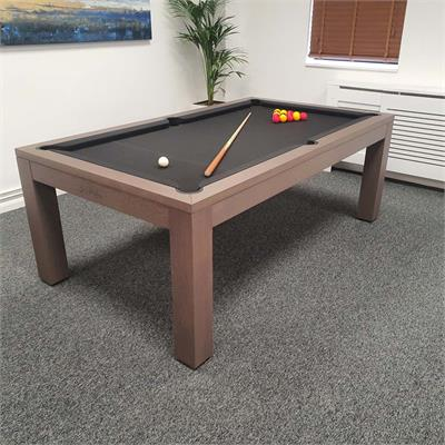 Billards Montfort Lewis Anthracite Grey Oak Luxury 7ft: Warehouse Clearance