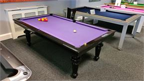 Billards Montfort Ile de France Pool Table in High Gloss Black: Warehouse Clearance