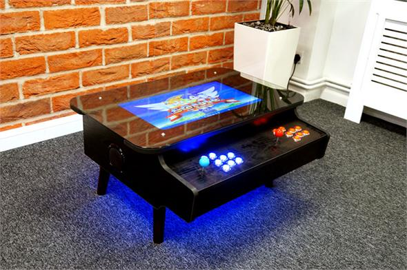 ArcadePro Triton 3442 Coffee Table Arcade Machine in Black