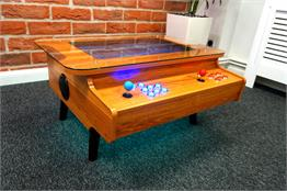ArcadePro Triton 3442 Coffee Table Arcade Machine in Oak