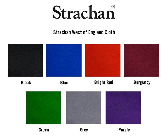 Strachan Basic Cloth Swatch Card