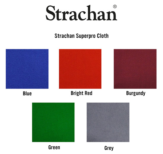 Strachan SuperPro Cloth Swatch Card