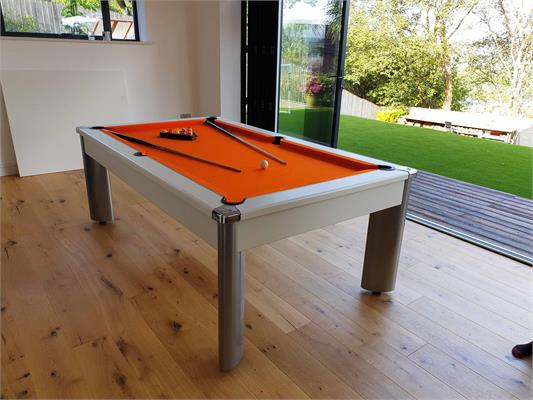 Fusion Pool Dining Table: All Finishes - 6ft, 7ft