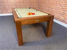 Signature Chester Walnut Pool Dining Table: Warehouse Clearance