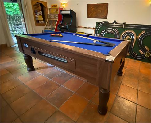 Ascot Pool Table - 6ft, 7ft  - All Finishes