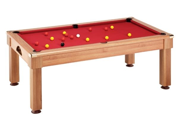 An image of Windsor Pool Dining Table: All Finishes - 6ft, 7ft