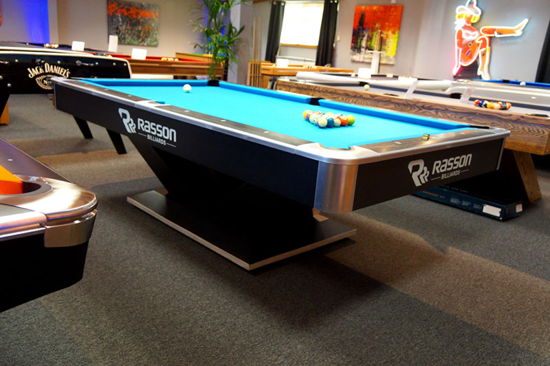 Rasson Victory 2 American Pool Table - In Showroom