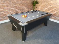 Signature Tournament Pro Edition Pool Table: Black - Warehouse Clearance