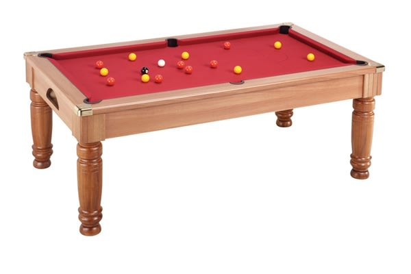 An image of Majestic Pool Dining Table: All Finishes - 6ft, 7ft
