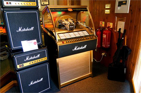 Marshall Rocket Vinyl Jukebox