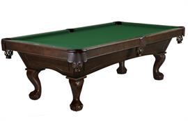 Brunswick Allenton American Pool Table - Ball And Claw Legs 7ft, 8ft