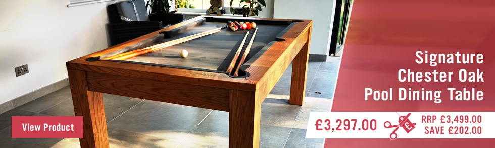 Signature Chester Oak Pool Dining Tables
