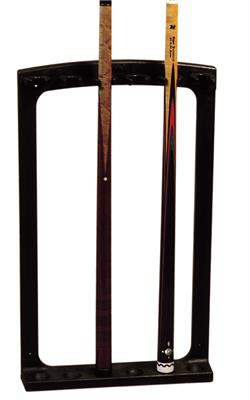 Professional Cue Rack - 6 Cues