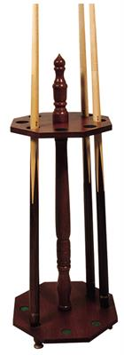 Octagonal Cue Stand - 8 Cues