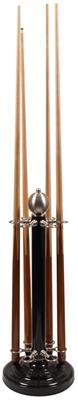 Deluxe Black And Steel Floorstand - 6 Cues