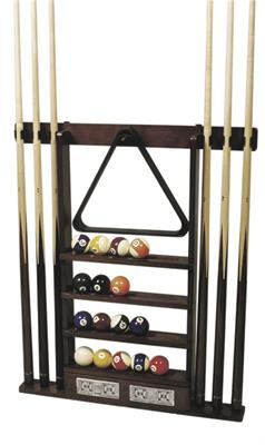 Wallrack Deluxe With Counter - 6 Cues