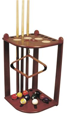 Maple Coloured Deluxe Corner Stand - 10 Cues