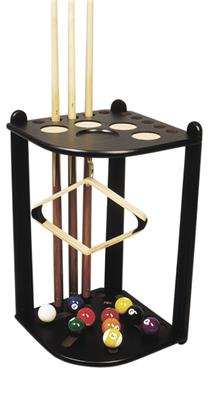 Black Coloured Deluxe Corner Stand - 10 Cues