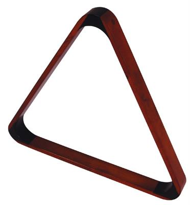 Deluxe Dark Maple Coloured Triangle - 57.2mm
