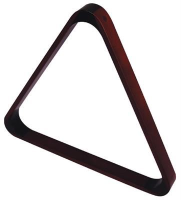 Deluxe Mahogany Coloured Triangle - 57.2mm