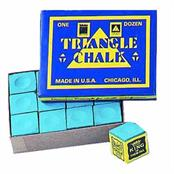 Triangle Chalk Green - Box of 12
