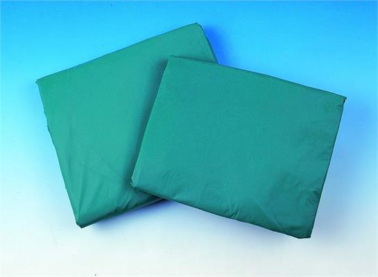 Table Cover - Green Plastic - 5-7'
