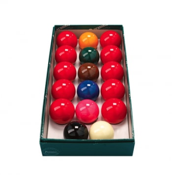"An image of 2"" Snooker Balls - 10 Red"