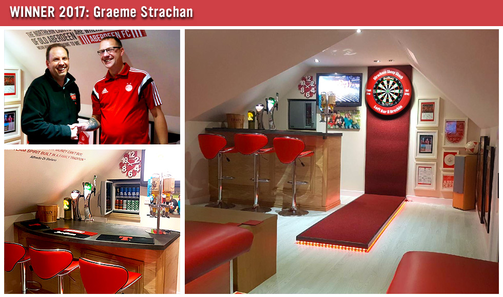 Games Room of the Year Winner 2017 - Graeme Strachan