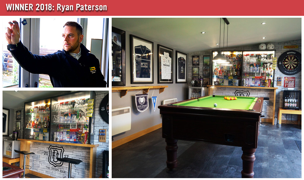 Games Room of the Year Winner 2018 - Ryan Paterson