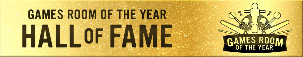 Games Room of the Year Hall of Fame