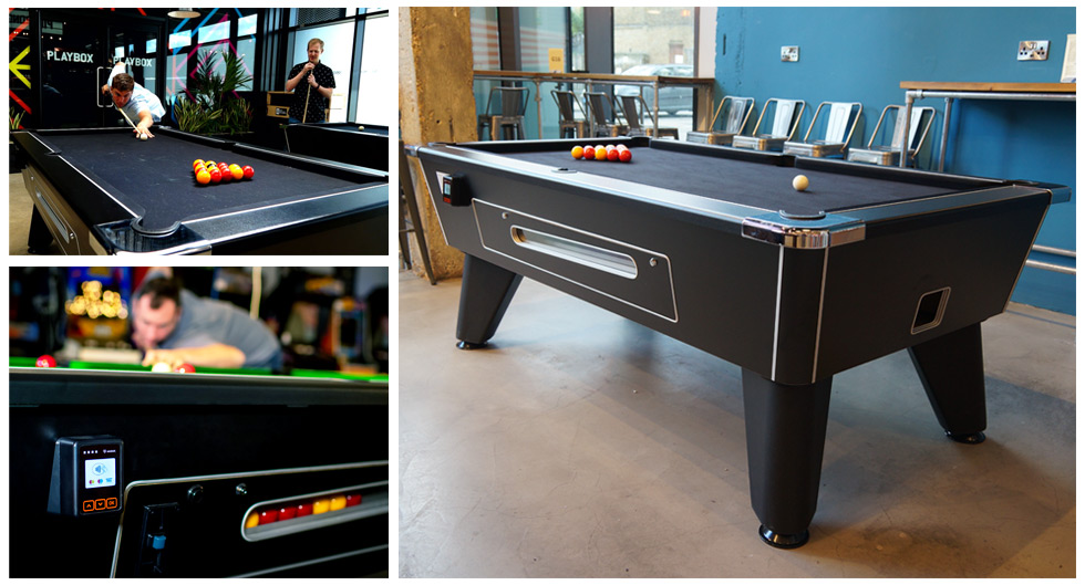 Contactless Payment Pool Tables - Compilation