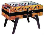 Garlando Coperto Deluxe Football Table - Briar Wood Finish