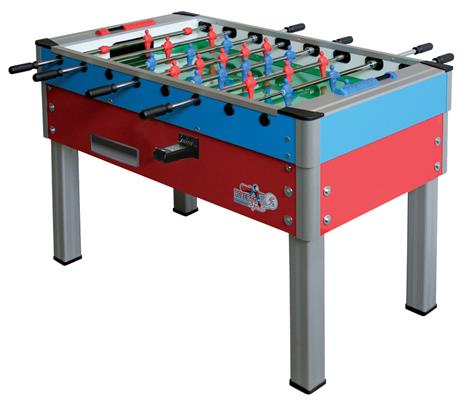 Roberto Sport New Camp Football Table - Red and Blue