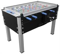 Roberto Sport Export Football Table - Glass Top - Black