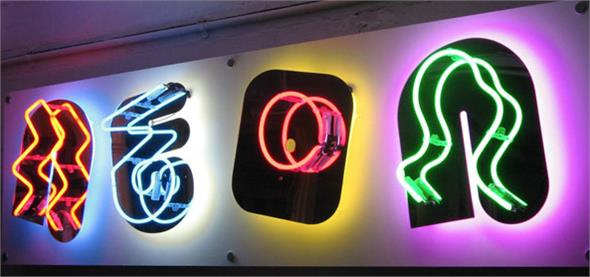 Custom Neon Signs: Example - Neon