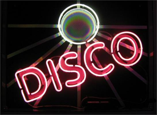 Custom Neon Signs: Example - Disco