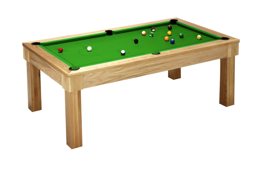 Unique Pool Dining Table - Square Leg