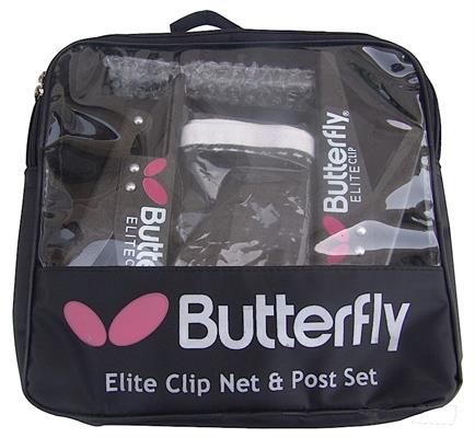 Butterfly Elite Clip Net and Post Set in Carrying Bag