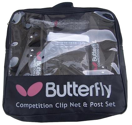 Butterfly Competition Clip Net and Post Set in Carrying Bag