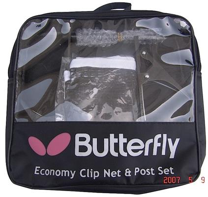 Butterfly Economy Clip Net and Post Set in Carrying Bag