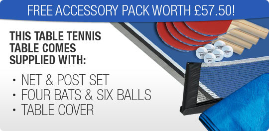 Table Tennis Accessories - £57.50