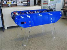 Bonzini Perspex B90 Babyfoot Blue Football Table