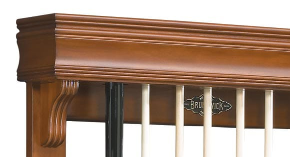 Brunswick Traditional Chestnut Wall Rack