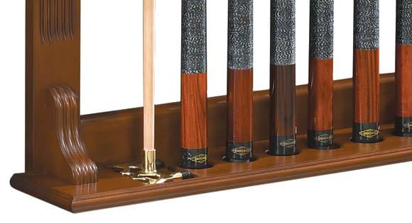 Brunswick Traditional Chestnut Wall Rack Bottom