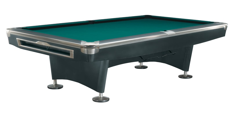 Brunswick Gold Crown V Black Pool Table