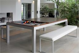Aramith Fusion Pool Dining Table - 7.5ft