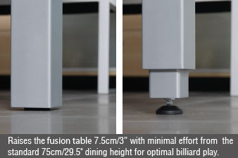 Aramith Fusion - Leg Lifting Mechanism