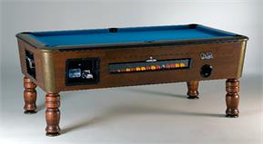 Sam Orleans Coin-Op Pool Table - 7ft
