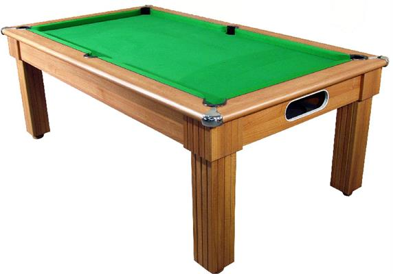 Florence Walnut Pool Dining Table - 6ft, 7ft