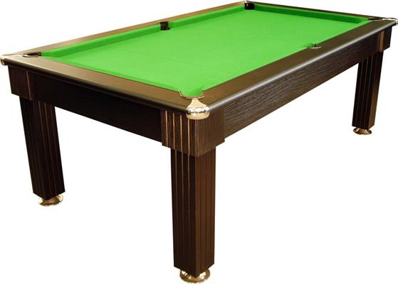 Florence Black Pool Dining Table - 7ft
